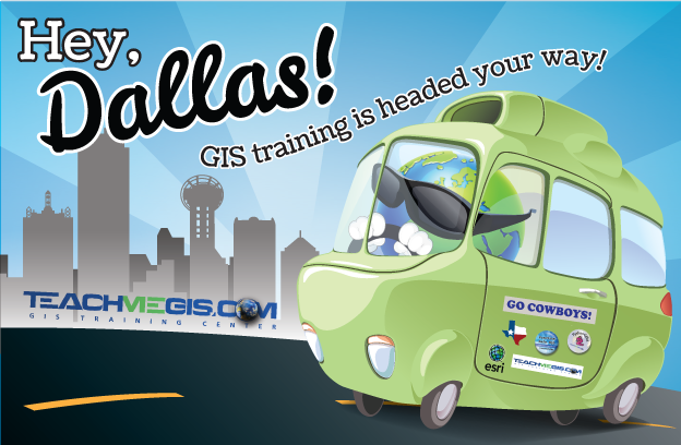 Hey, Dallas! GIS training is headed your way!