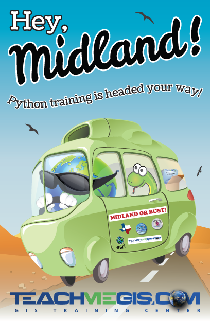Hey, Midland! Python training is headed your way!